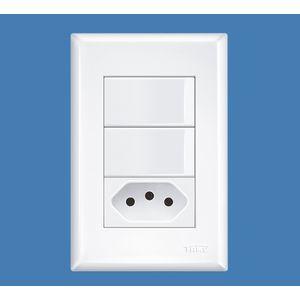 2-Interruptores-Simples-16A-250V-e-Tomada-2P-T-20A-250V-Evidence