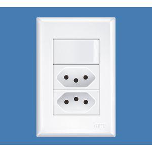 Interruptor-Simples-16A-250V-e-2-Tomadas-2P-T-10A-250V-Evidence