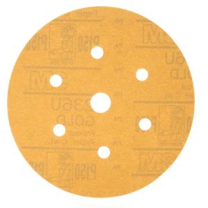 Disco-Hookit-P060C-Ouro-7-Furos-3M