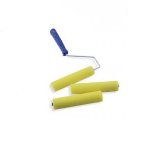Rolo-de-Espuma-Amarela-de-Poliester-9cm-com-2-refis-Ref.1337-Tigre
